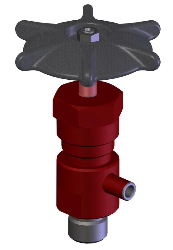 Клапаны (вентили) запорные типа 1с.